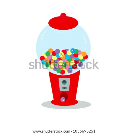 Gumball Machine - silly faces