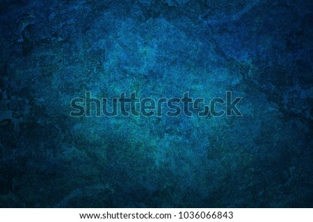 Blue Grunge Concrete Wall Texture Background. blue abstract grunge textures wall background.