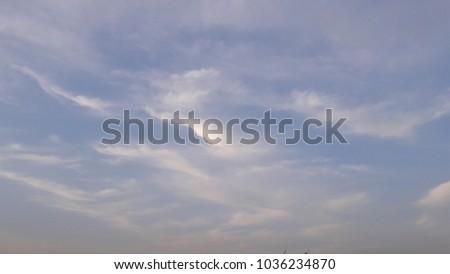sky color like purple with shiny clouds #1036234870