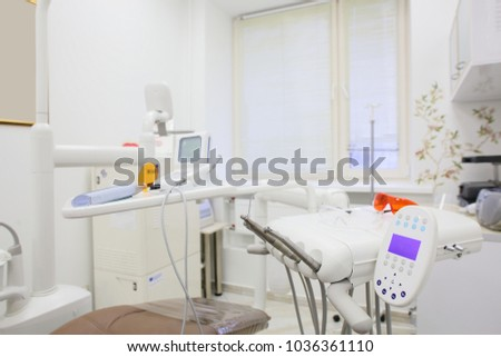 bright and luxury european medical cabinet interior #1036361110