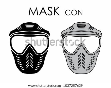 Mask icon colored