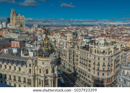 The city of Berlin in Spain #1037923399