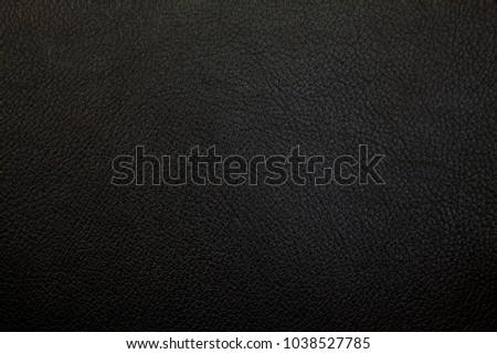 Luxury black leather texture background #1038527785