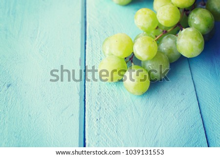 Bunch of green grapes #1039131553