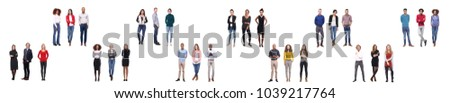 Group of people team  #1039217764