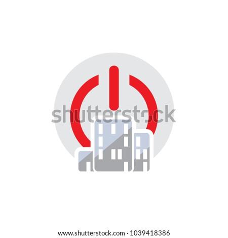 Building Power Logo Icon Design #1039418386