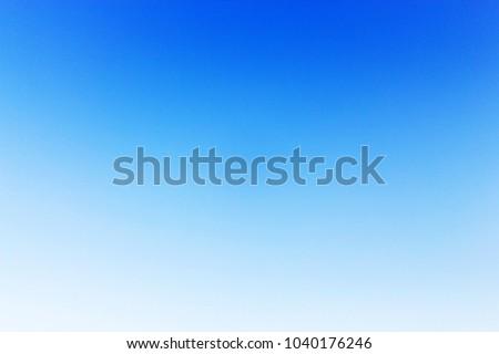 Cloudless Blue sky #1040176246