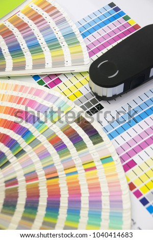 Press color management - print production #1040414683