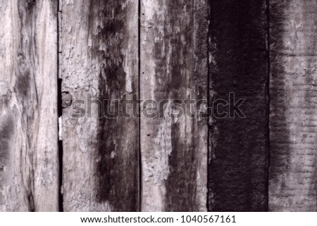 Wooden texture with scratches and cracks #1040567161