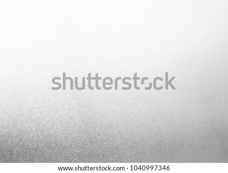 Silver foil texture or background white merry christmas card art backdrop bright paper paillette metal shiny luxury decorative glitter sparkle design abstract blurred light wallpaper vintage wall #1040997346