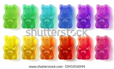 Gummy Bears Colorful #1041056044