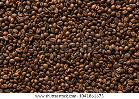Coffee beans background #1041861673