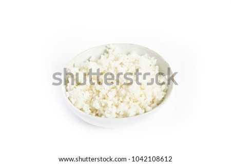 the rice in the dish #1042108612