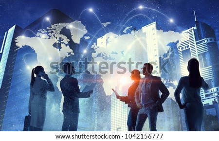 Global business concept #1042156777