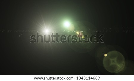 Digital Galaxy lens Flare , light leaks , Abstract overlays background. #1043114689