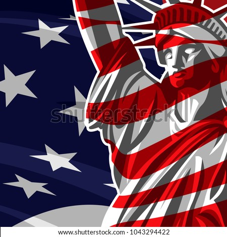 Statue of liberty #1043294422