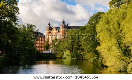 Architecture of  Copenhagen, the capital of Denmark #1043453554