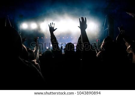crowd at concert #1043890894