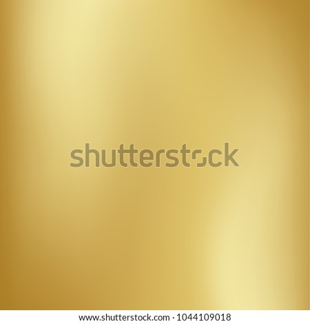 Vector gold blurred gradient style background. Abstract smooth colorful illustration, social media wallpaper Royalty-Free Stock Photo #1044109018