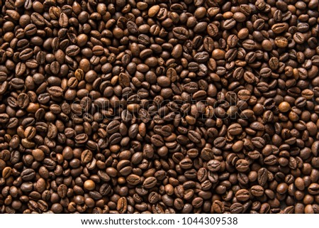 Coffee beans background #1044309538