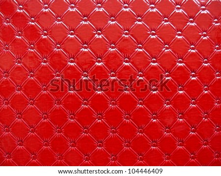 Genuine leather upholstery. Good for decorating, interior, fashion, apparel, background, concept, party, disco or abstract design. More of this motif & more leather in my port.
