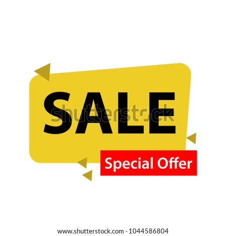 Sale Special Offer Vector Template Design #1044586804