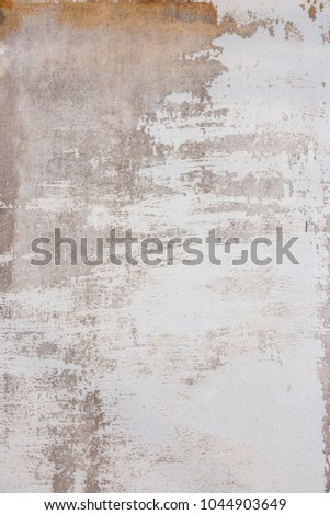 Cracked concrete old plaster wall texture background #1044903649