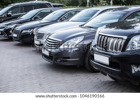 number of cars on the outside in the parking lot #1046190166