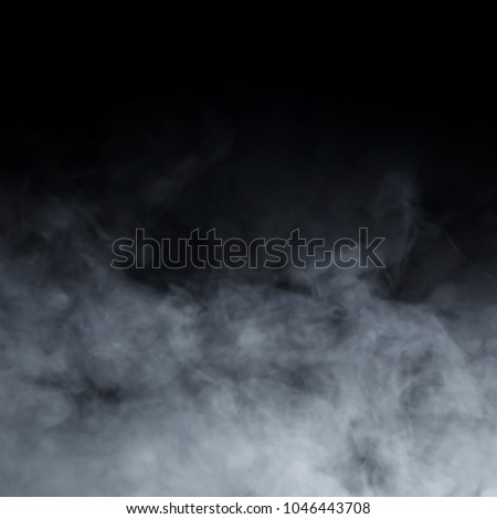 Abstract smoke texture over black background #1046443708