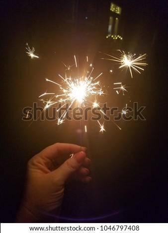 Sparkler Firework Night #1046797408