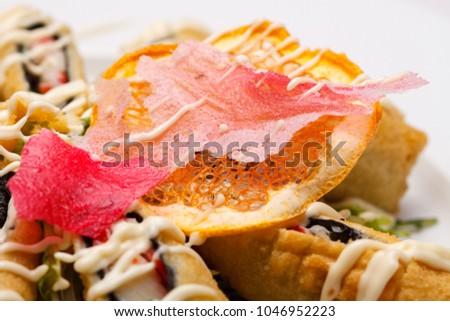 Seafood in batter. Tempura #1046952223