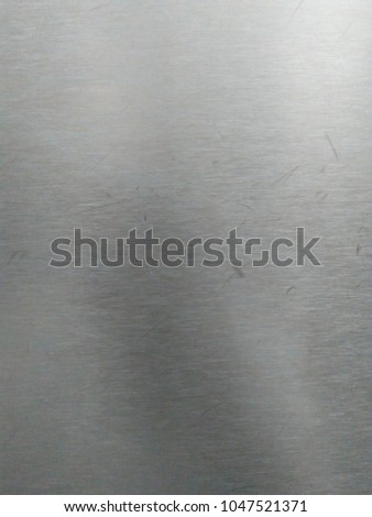 Metal texture background or stainless steel plate  #1047521371