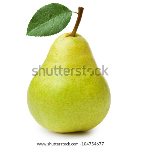 pears isolated on white background #104754677