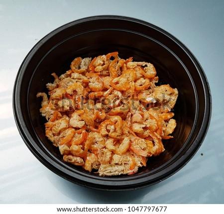 thai dried shrimp #1047797677