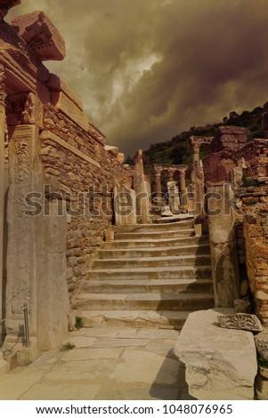Ruins of Ephesus      #1048076965