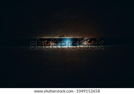 The horror movie poster Royalty-Free Stock Photo #1049152658