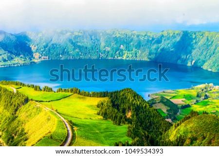 Azores, Ponta Delgada, Portugal #1049534393