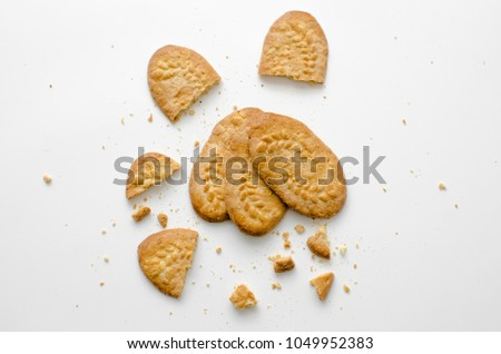 Wheat Biscuit contains great viber that food for your digestion #1049952383