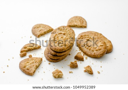 Wheat Biscuit contains great viber that food for your digestion #1049952389