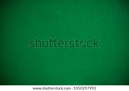 Emty green cloth poker table, template or mock up Royalty-Free Stock Photo #1050297992
