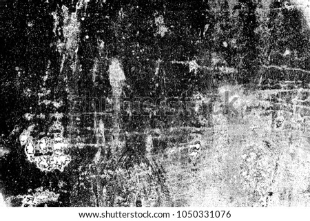 Abstract background. Monochrome texture. Image includes a effect the black and white tones. #1050331076