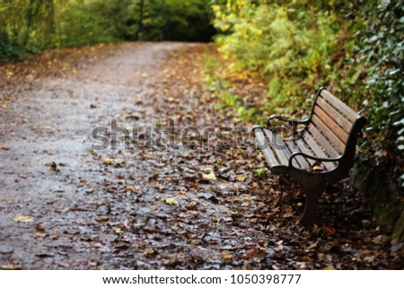 A quite place in Autumn  #1050398777