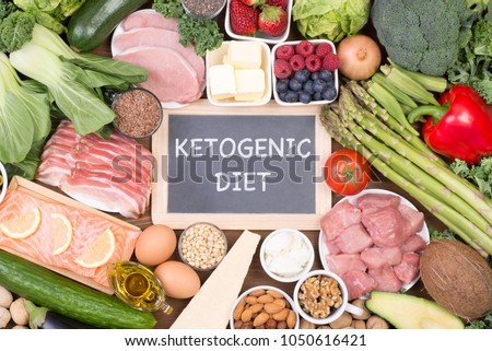 Food recomended on low carb diet or ketogenic diet #1050616421