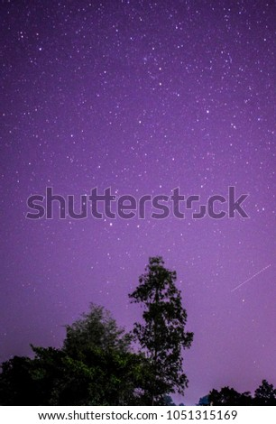 Blurred Meteor, Lost star. #1051315169