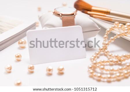 Business card for beauty salon