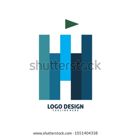 square brick castle logo design #1051404338