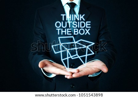 Think Outside The Box #1051543898
