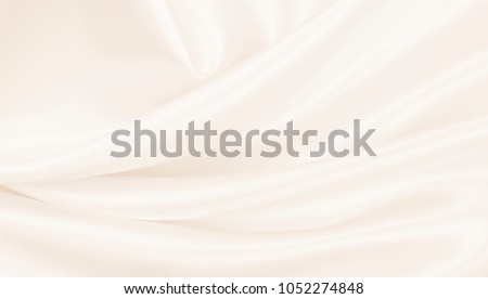 Smooth elegant golden silk or satin luxury cloth texture can use as wedding background. Luxurious background design. In Sepia toned. Retro style #1052274848