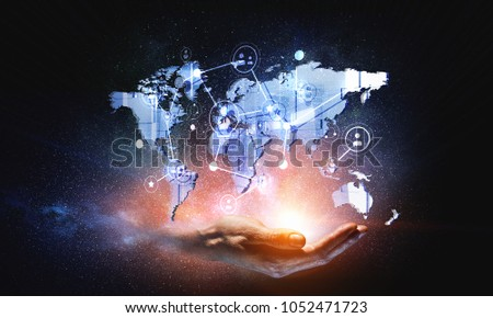 Global communication and networking #1052471723