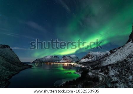 Northern Lights in Senja #1052553905